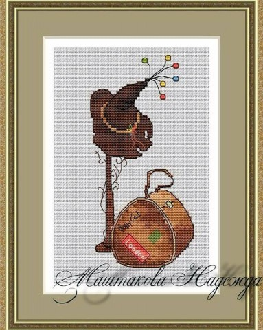 Cross-stitch — Katya Dudnik